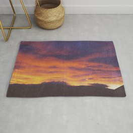 wake up & smell the campfire Rug
