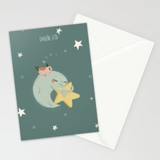 Moon Nap Stationery Cards