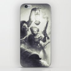 The Intruders iPhone & iPod Skin