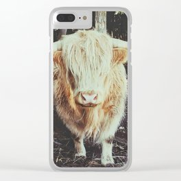 Bos Grunniens Clear iPhone Case