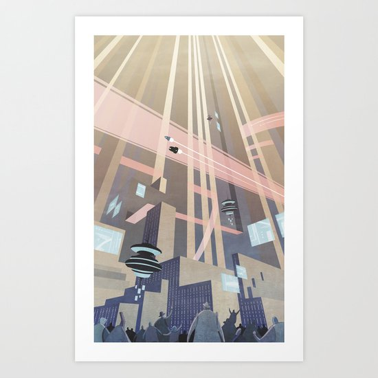 Aeropolis - F-Zero GP Art Print