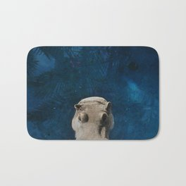 Hippo on the Tropic of Capricorn  Bath Mat