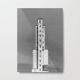 Grain Elevator Metal Print