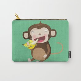 Monkeys love bananas Carry-All Pouch