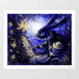 Rabbit's Portal Art Print