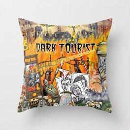 Dark Tourist Throw Pillow