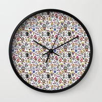 potter Wall Clocks featuring Wizards by Hello Quirky