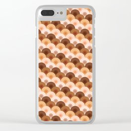 wave of boobies Clear iPhone Case