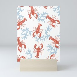Lobster Toss Mini Art Print