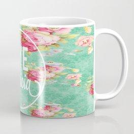 Bye Felicia Vintage Floral Print Coffee Mug