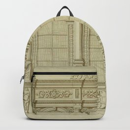 Classical Library Architecture Backpack