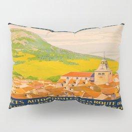 Vintage poster - Route du Jura, France Pillow Sham