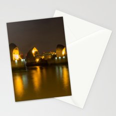 Thames Barrier Night Time Stationery Cards