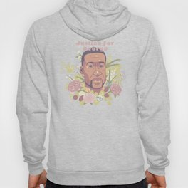 Justice for George | with pink text Hoody