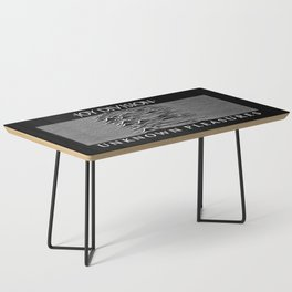 The Line Of Division Coffee Table