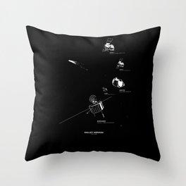 HALLEY ARMADA Throw Pillow