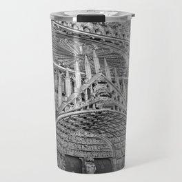 French Architecture - Strasbourg Cathedral  Travel Mug