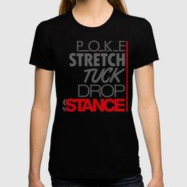 POKE STRETCH TUCK DROP STANCE v1 HQvector T-shirt