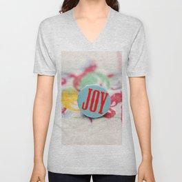 JOY! Unisex V-Neck