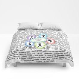 Positive Bubble Comforters