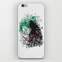 Arkham Bats iPhone Skin