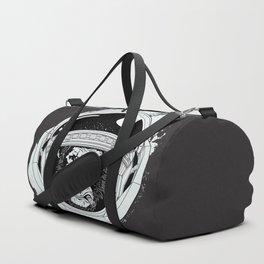 Black Space Monkey Duffle Bag