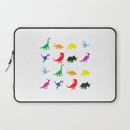 Fun Dinosaur Pattern Laptop Sleeve