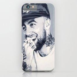 Mac Miller Spray Painting iPhone Case