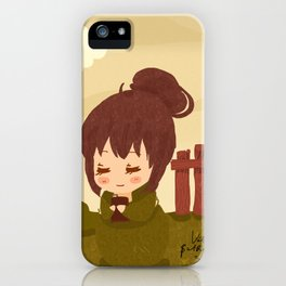Jane Austen - Lizzy Bennet iPhone Case