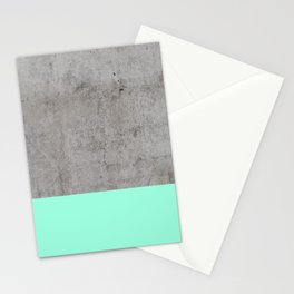 Sea on Concrete Stationery Cards
