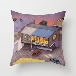 Le Bounty Throw Pillow
