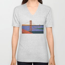 Golden Gate Bridge II Unisex V-Neck