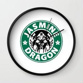 The Jasmine Dragon Wall Clock