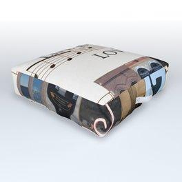 Love of Music Outdoor Floor Cushion