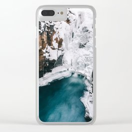 Element: Water (008) Clear iPhone Case