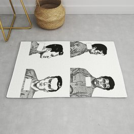 Dick and Perry Rug