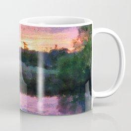 Monet Inspired Sunrise Coffee Mug