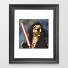 Sith Bowser [FANDOG] Framed Art Print