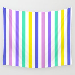Eighties stripes Wall Tapestry