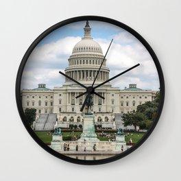 The US Capitol Building Wall Clock