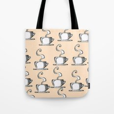 Cups Of Coffee Tote Bag