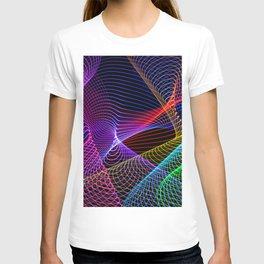 Rainbow Tornados Light Painting T-shirt