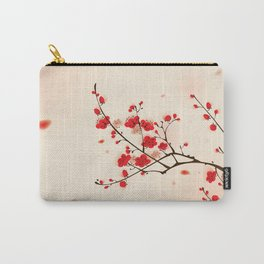 Oriental plum blossom in spring 009 Carry-All Pouch