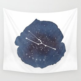 taurus constellation zodiac Wall Tapestry