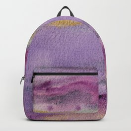 Moonglow Gold Abstract Painting Backpack