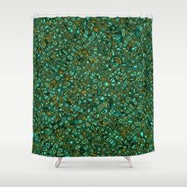 CoriandoliTech 14 Shower Curtain