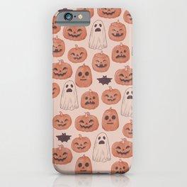 Spooky Pumpkin Patch iPhone Case