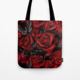 Bugs and Roses Tote Bag