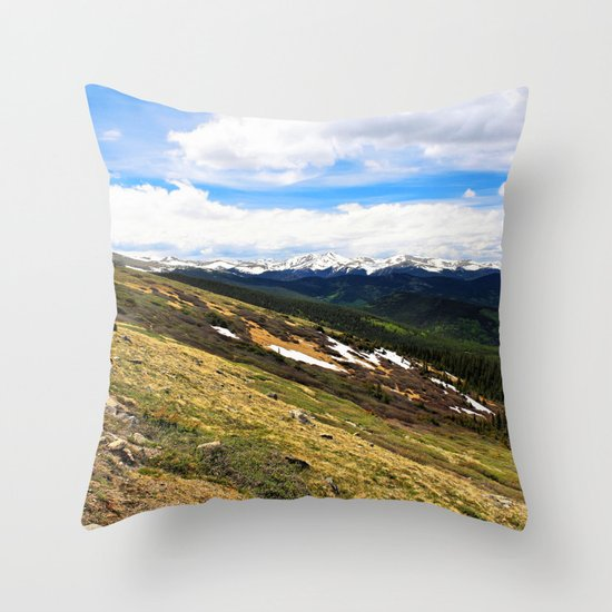 Slope Throw Pillow