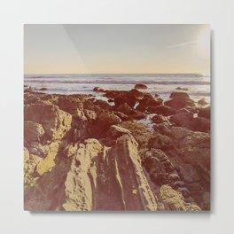 Jagged Shore Metal Print